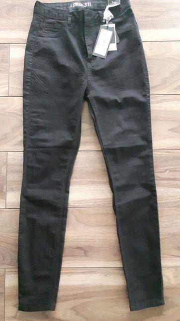 Czarne nowe spodnie r.31 new yorker