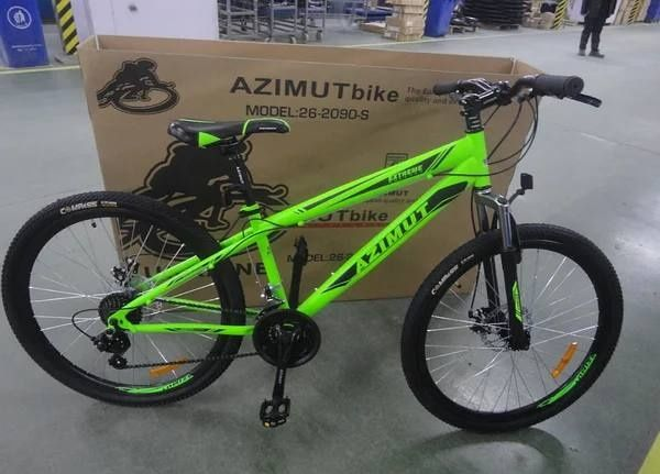 Подростковый горный спортивный велосипед AZIMUT Extreme 24