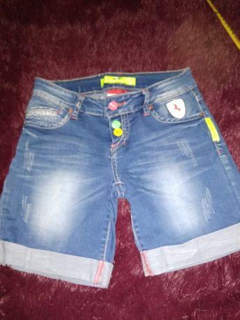 Шорты джинсовые 27размер