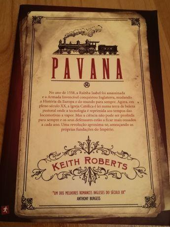 """Livro """"Pavana"""",de Keith Roberts"""