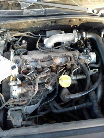 Разборка рено лагуна 2 reno laguna 1.9dci двигатель F9Q
