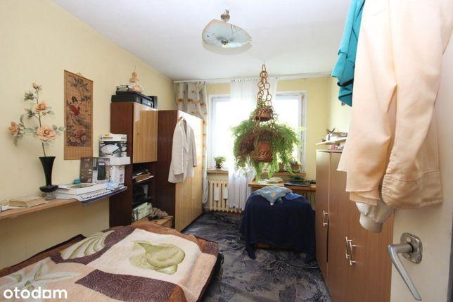 Dwupokojowe mieszkanie na II piętrze w bloku na Os