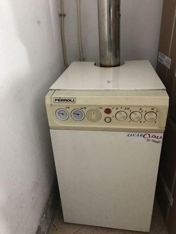 Caldeira a gasóleo + Depósito 1500 litros