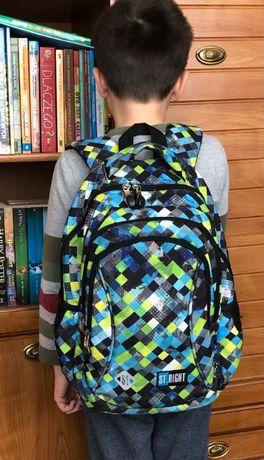 Plecak dziecięcy do szkoły chłopięcy dla chłopca podstawowa szkoła