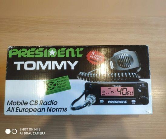 Radrio CB President Tommy i antena Sirio Mini Snake
