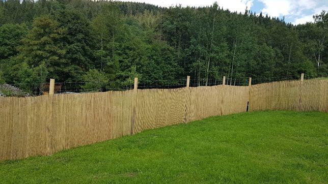 Mata osłonowa z bambusa 100cm na 300