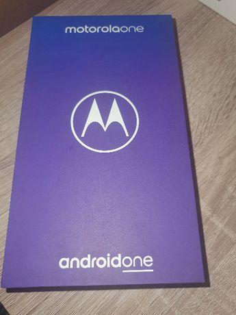 Nowy smartfon Motorola Moto ONE bialy Gwaranacja 24 mc Android