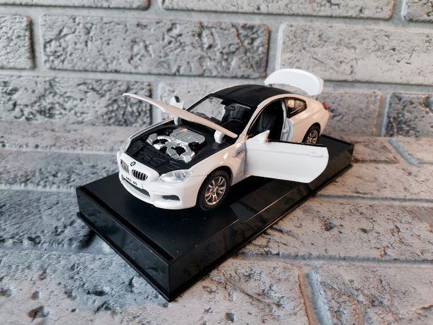 Коллекционная машинка металл BMW M6 Coupe (БМВ М6)1:32 свет, звук, ине