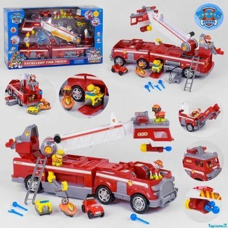 Спасательная пожарная машина Щенячий патруль 21251,свет,звук Большая