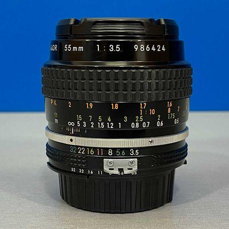 Nikon Micro-Nikkor 55mm f/3.5 (Ai)