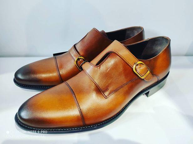 Stylowe Monki. Męskie obuwie skórzane
