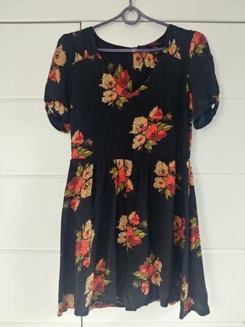 Sukienka letnia w kwiaty TOPSHOP
