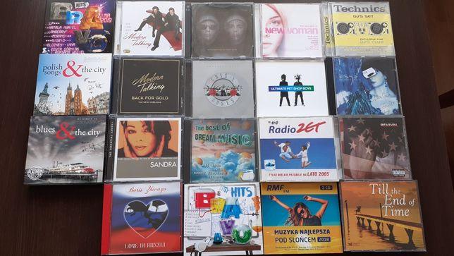 Zestaw płyt cd Sandra - Pet Shop Boys - Modern Talking