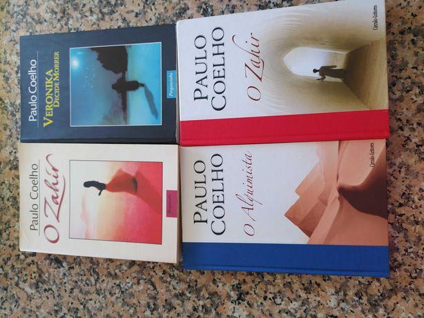 4 livros novos do Paulo Coelho. Agora, com oferta de mais um livro!