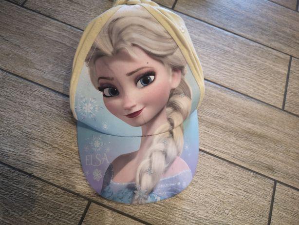 Kaszkietówka kaszkiet z warkoczem ELSA Frozen, Disney