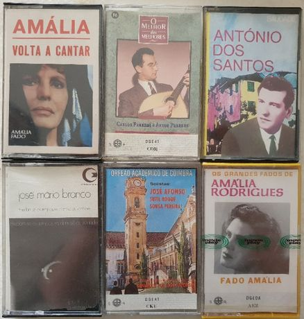 Cassetes música Portuguesa, Japonesa e outras