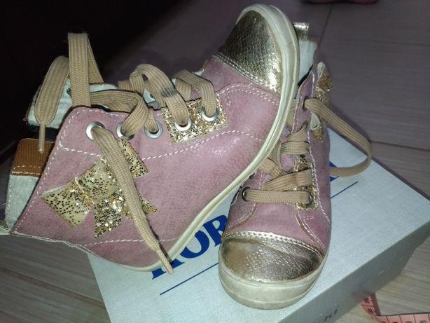 Buty dla dziewczynki KORNECKI, rozmiar 27, skórzane
