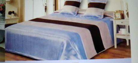 Narzuta na łóżko satynowa