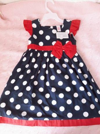 Нове плаття, сукня, летнее платье, суконка на 5 років. Carter's