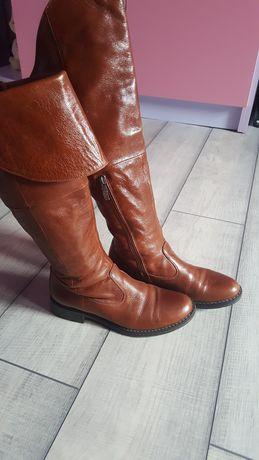 Повністю шкіряні чобітки