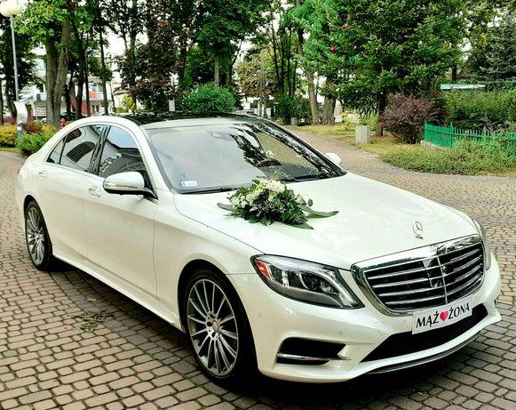 Auto do Ślubu Mega Oferta Mercedes S550 Bmw 7 Long od 500zł