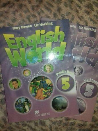English World 5 английский учебник и рабочая тетрадь (комплект)