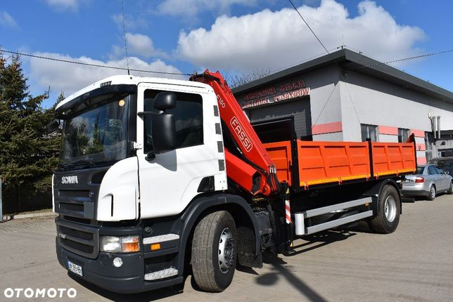 Scania P280  3xW Fassi F150 Sterowanie Radiowe Dwa Wysuwy Hydrauliczne