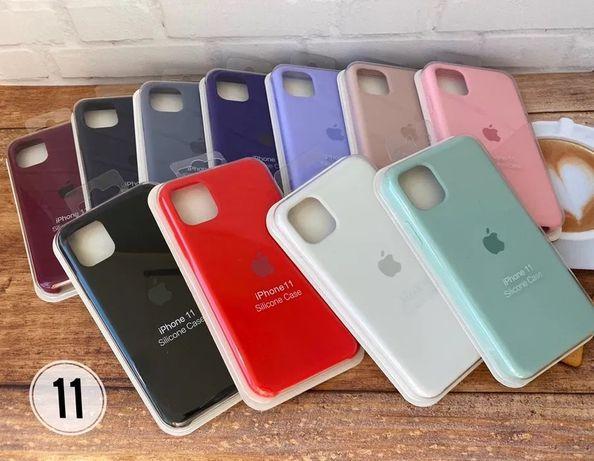Силиконовый Чехол Silicone Case iPhone 6 7 8 Plus X Xs Xr 11 Pro Max