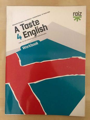 Caderno de atividades de Inglês 10º ano, editora Raiz