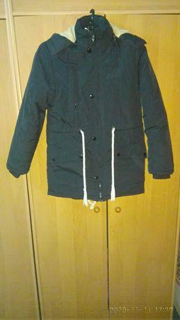 Куртка парка на мальчика подростка
