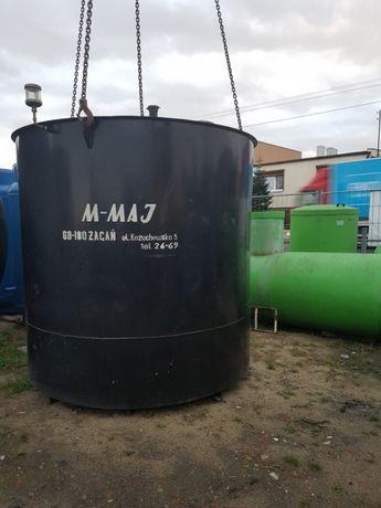 Zbiornik stalowy dwupłaszowy do paliwa 6m3
