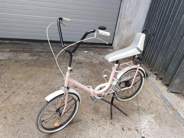 Bicicleta orbita ginga dobrável antiga roda 20