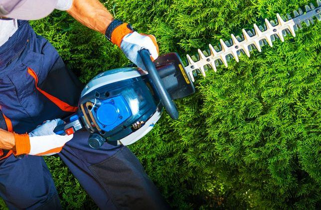 Koszenie trawników, wywóz, czyszczenie rynien cięcie łupanie drewna