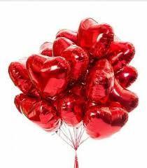 Balony z helem serca walentynki urodziny zaręczyny balony dla dzieci