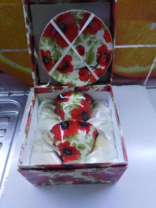 Продам две чашки с блюдечками СССР Харьков - изображение 1
