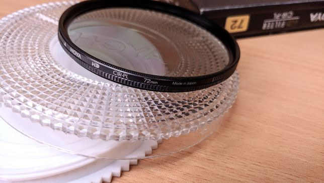 Защитный фильтр Hoya HD CIR-PL 72мм. поляризационный (оригинал)