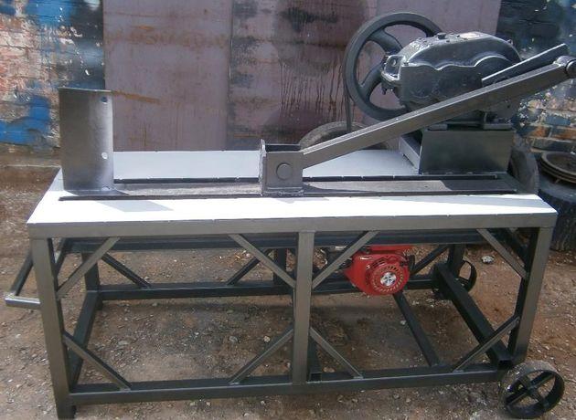 Дровокол редукторный бензиновым 7.5л\с или электродвигателем 4-111квт