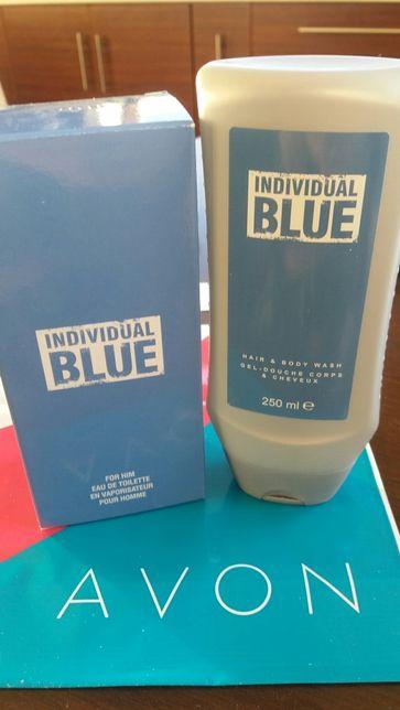 Avon Individual blue + żel pod prysznic