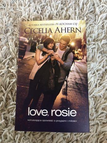 """Książka """"Love Rosie"""""""