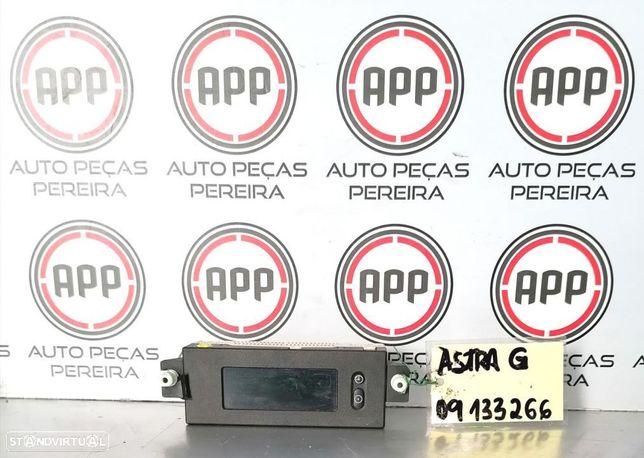 Display Opel Astra G referência 09133266, 24428043.