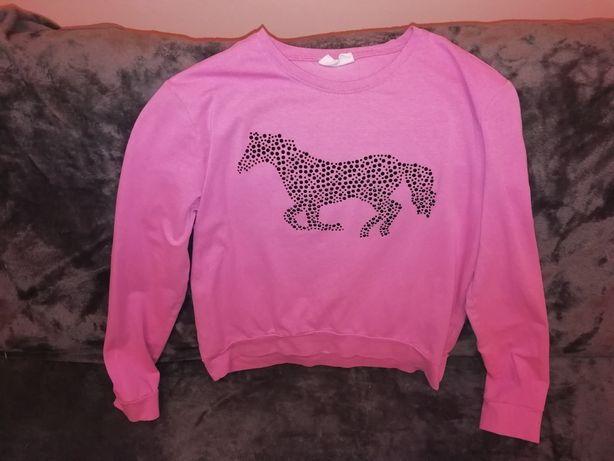 Różowa bluzka dla dziewczynki COCCODRILLO