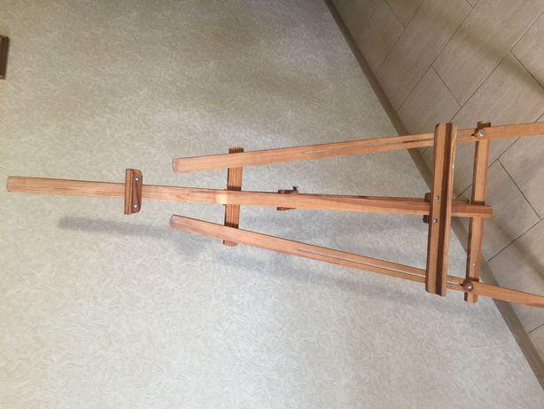 Мольберт деревянный складной