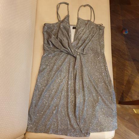 Платье с блеском