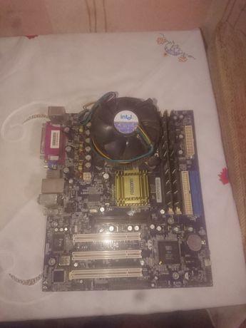 /Робочий Комплект МП foxconn+ Pentium 4 (DDR1)