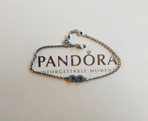 Pandora браслет талисман бесконечность оригинал