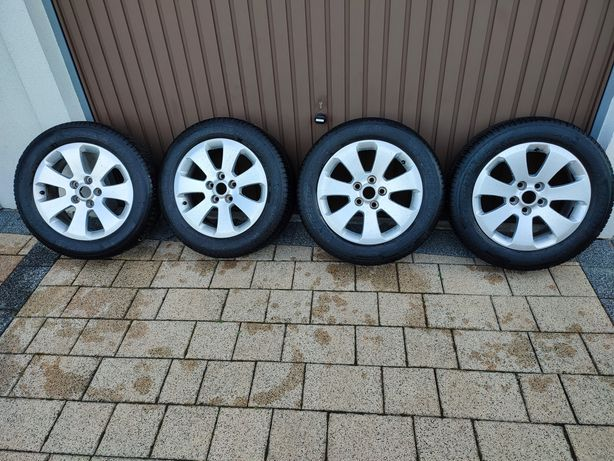 Koła 5x120, alufelgi Opel Insignia 225x55x17 Michelin CrossClimate 5mm