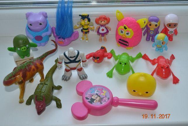 игрушки МакДональдс и другие