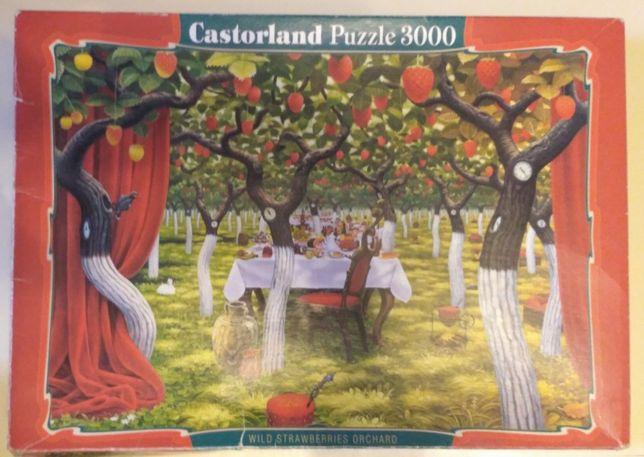 Пазл 3000, Йерка Земляничные деревья, Castorland.