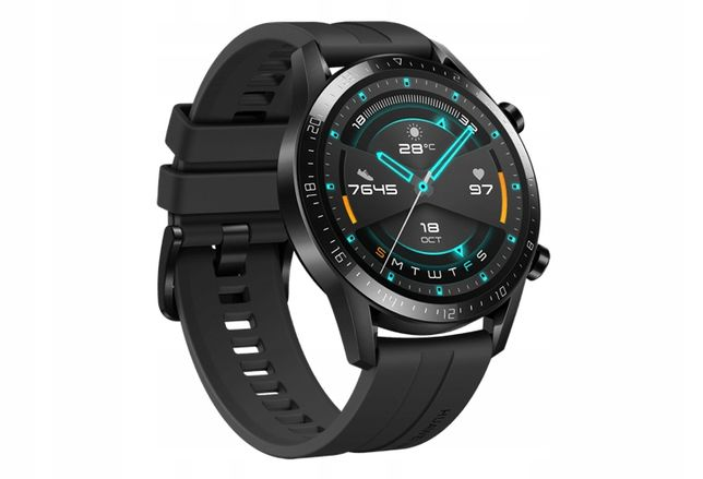 Zegarek Huawei Watch GT 2 Sport LTN-B19 46 mm Czarny - NOWY!
