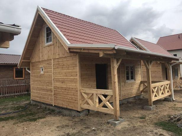 Domki drewniane szkieletowe - budowa od A do Z